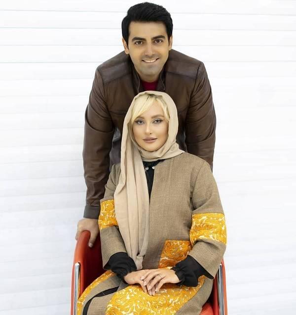 محمدرضا رهبری و همسرش
