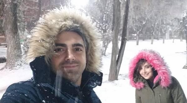 محمدرضا رهبری و همسر او