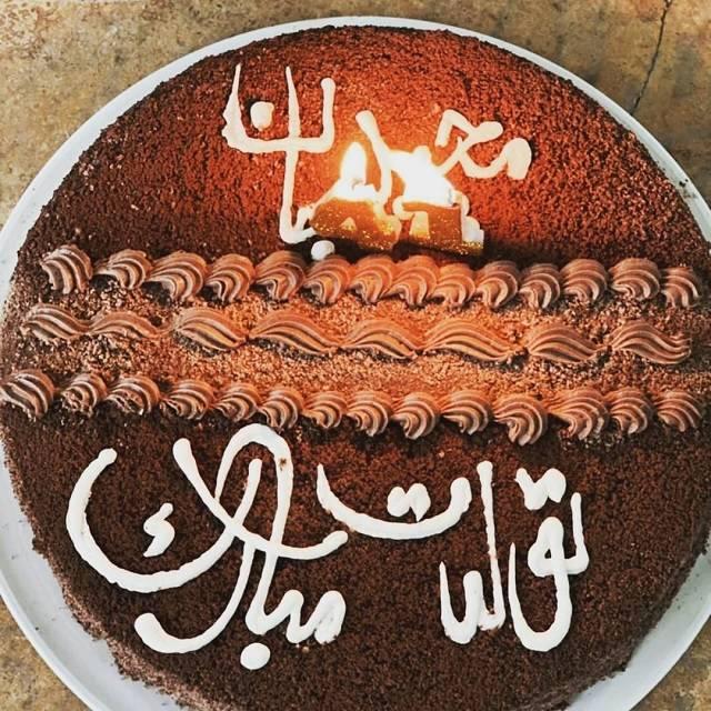 کیک تولد مجید واشقانی