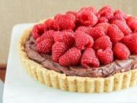 طرز تهیه تارت شکلات و میوه