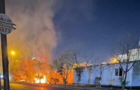 تنش و درگیری با نیروهای امنیتی در نزدیکی کنسولگری ایران در کربلا