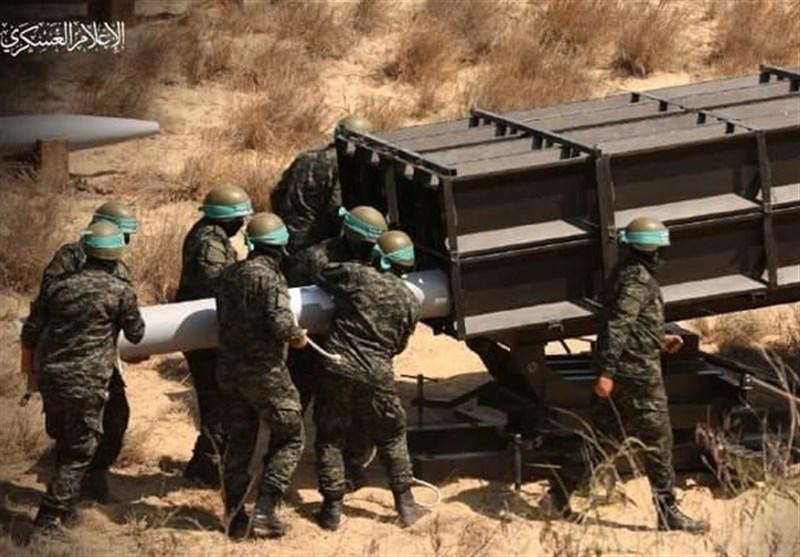 ادامه حملات موشکی مقاومت علیه اراضی اشغالی