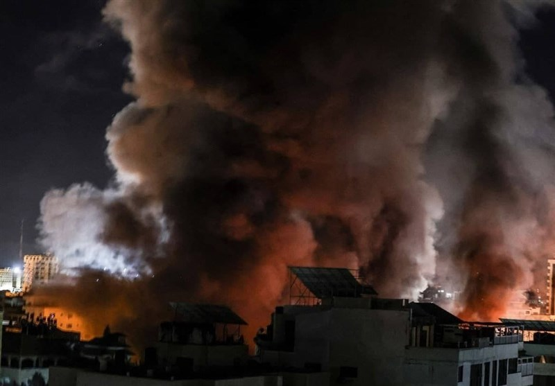 رژیم صهیونیستی جنوب غزه را به شدت بمباران کرد