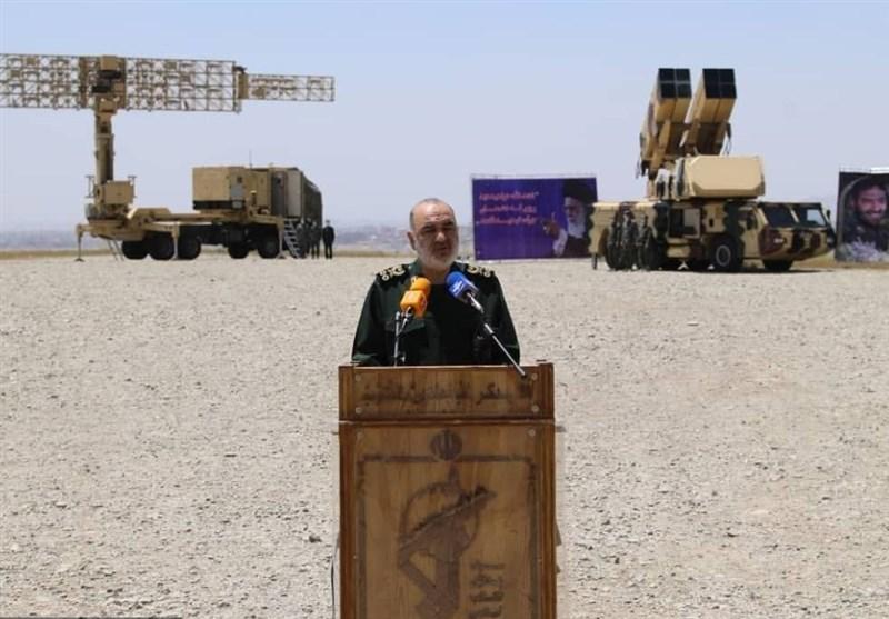سرلشکر سلامی: استراتژی عملیاتی ما توسعهی قلمرو دفاعی در ارتفاع بالاست
