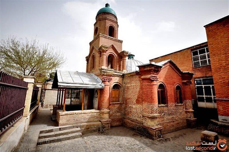 کلیسای قرمز قزوین