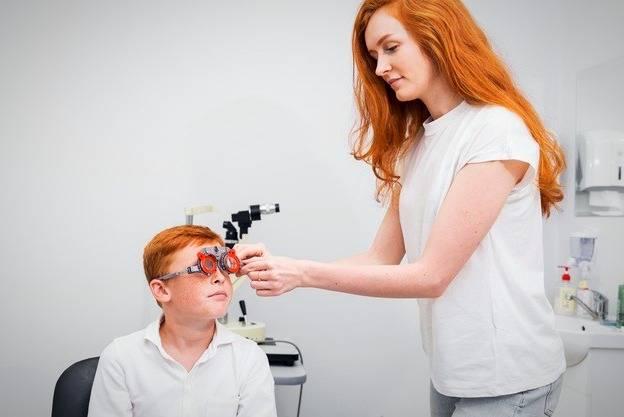 آزمایش چشم