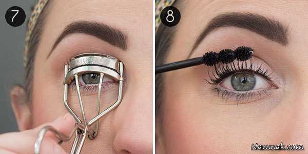 آموزش آرایش چشمان ریز