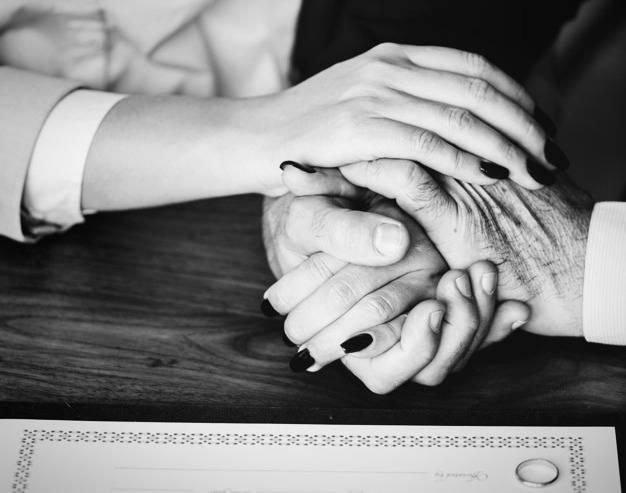 ازدواج زوج عاشق با ۹۵ سال اختلاف سنی !!