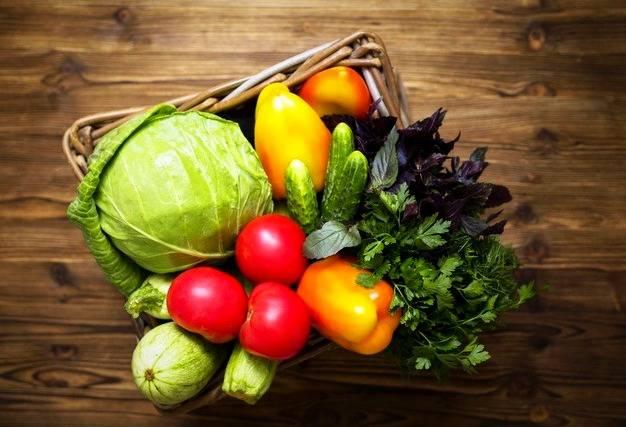 استفاده از سبزیجات