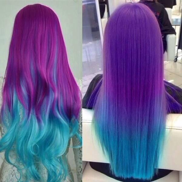 روش استفاده از رنگ مو فانتزی
