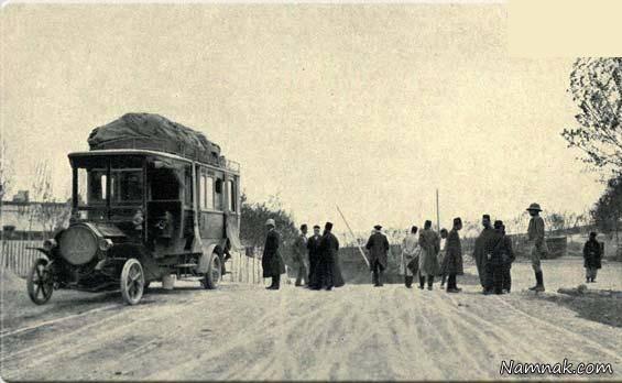 اولین اتوبوس در ایران