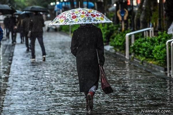 باران در رشت
