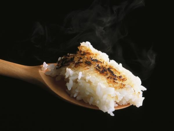 بوی سوختگی برنج
