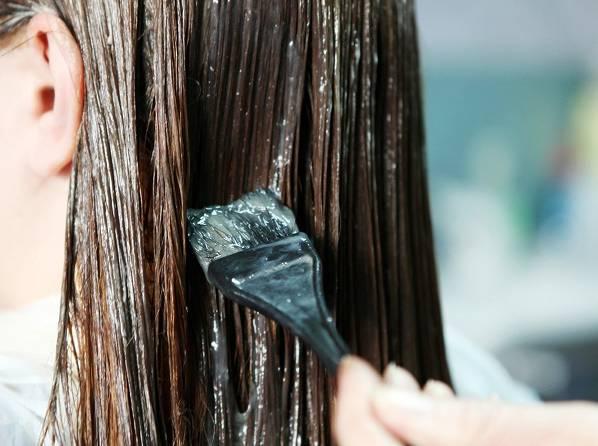 تست رنگ مو