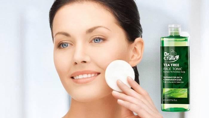 تونر و کمک به سلامت پوست