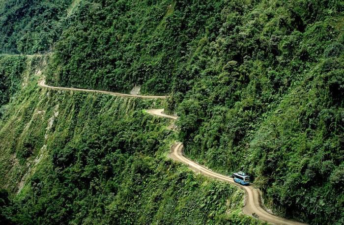 جاده خطرناک جهان