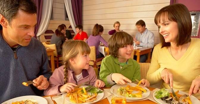 جیغ زدن در رستوران