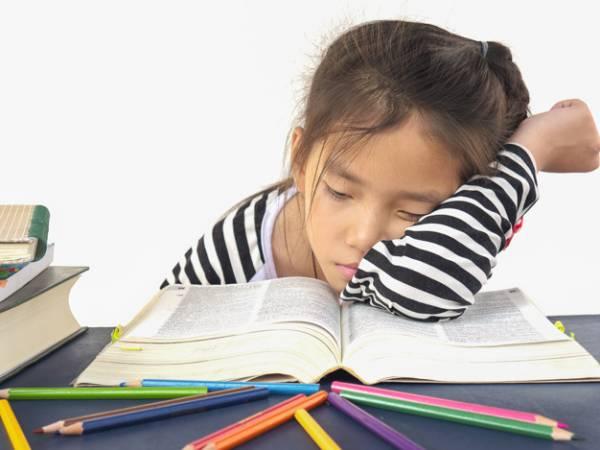 خواب آلودگی کودک