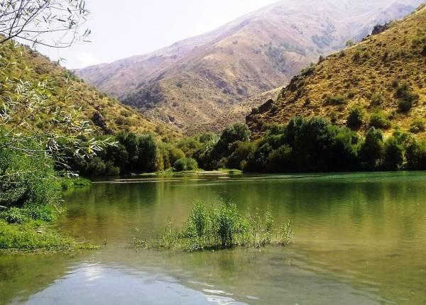 دریاچه مارمیشو جاذبه ای حیرت انگیز در ارومیه