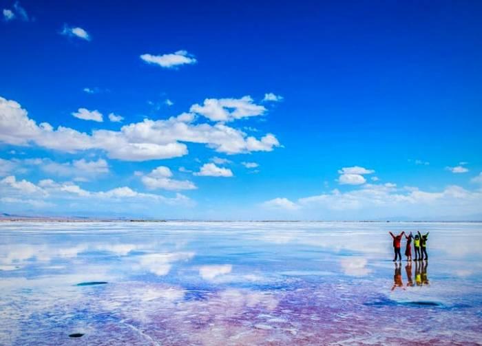 دریاچه نمک چاکا