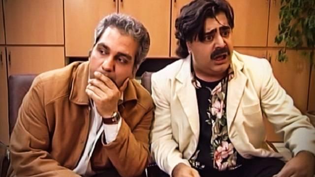 رضا شفیعی جم و مهران مدیری