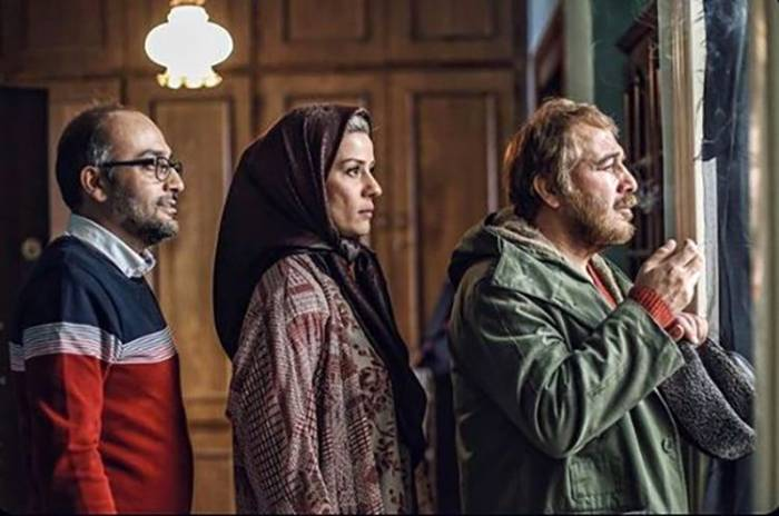 رضا عطاران و سارا بهرامی
