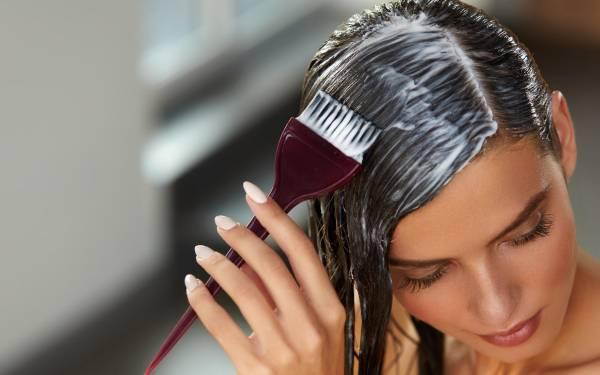 رنگ کردن موهای خود