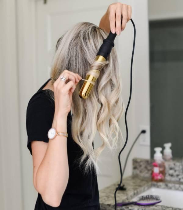 روش فرکردن موها