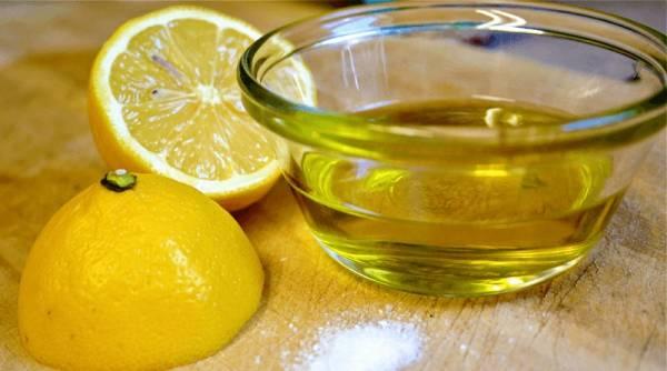 روغن زیتون لیمو ترش