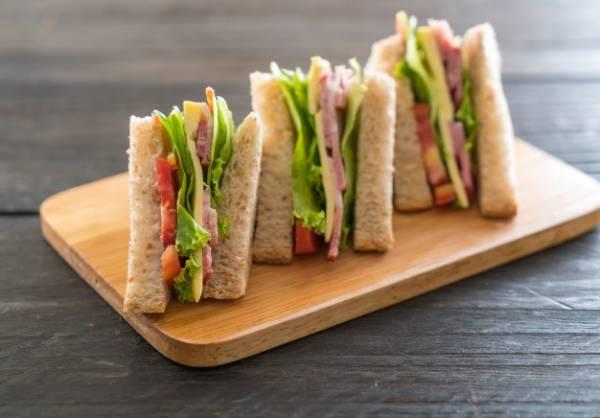 ساندویچ سبزیجات