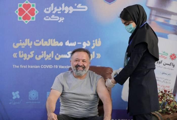 صالحی بازیگر نون خ واکسن کرونا زد