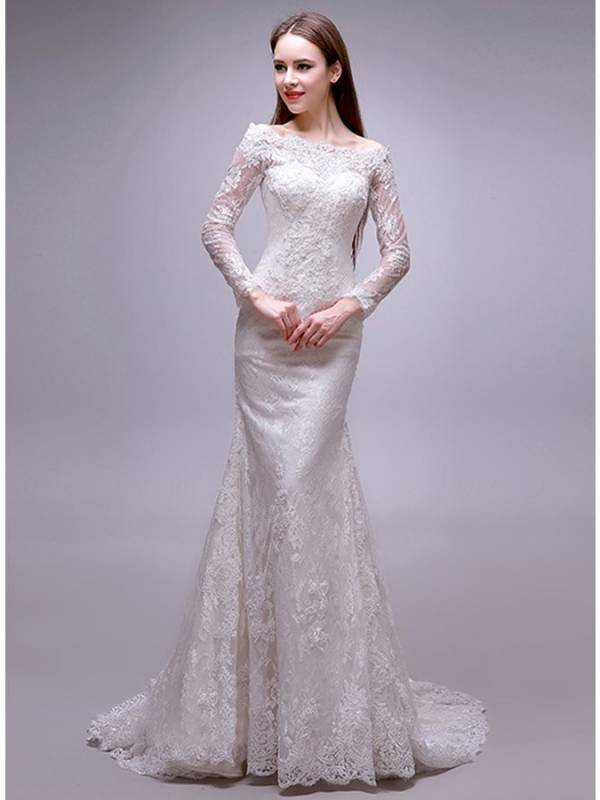لباس عروس متناسب با اندام