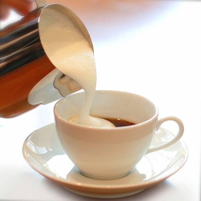 مضرات قهوه با شیر