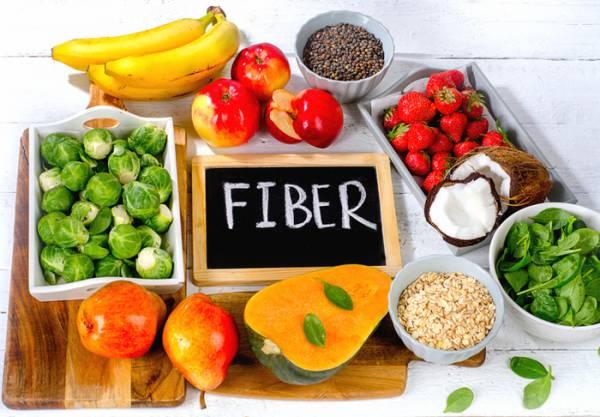 مواد غذایی با فیبر بالا