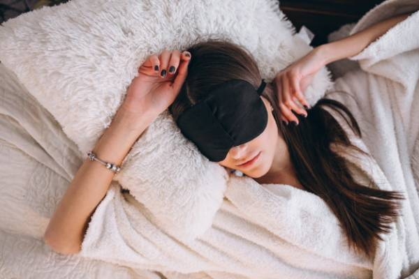 موها در خواب
