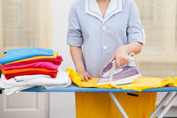 نکات اتو کشیدن لباس
