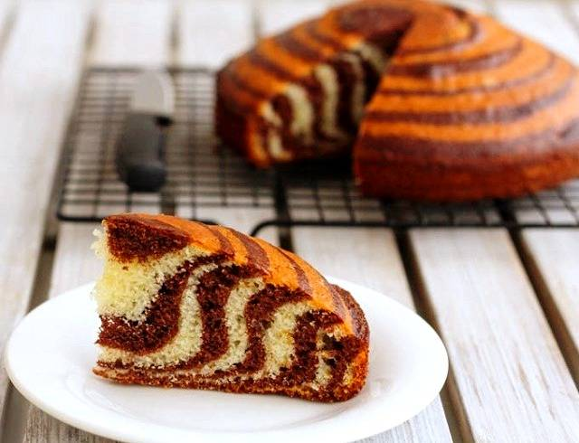 نگهداری کیک زبرا