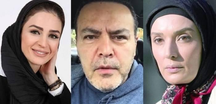 همسران فریبرز عرب نیا
