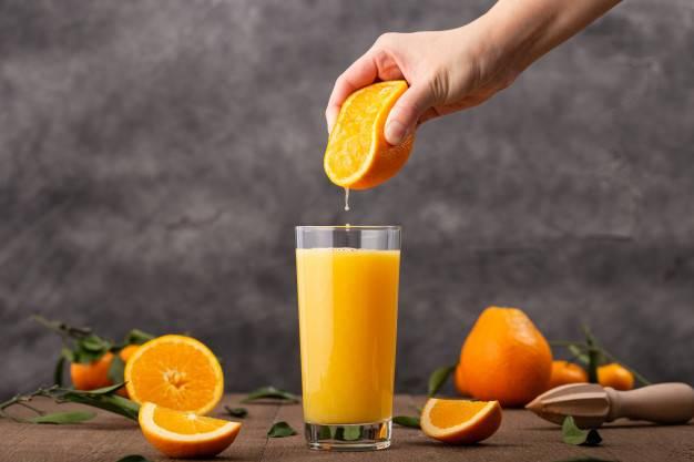 آب پرتقال طبیعی آنتی اکسیدانی قوی