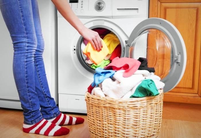 پرکردن ماشین لباسشویی