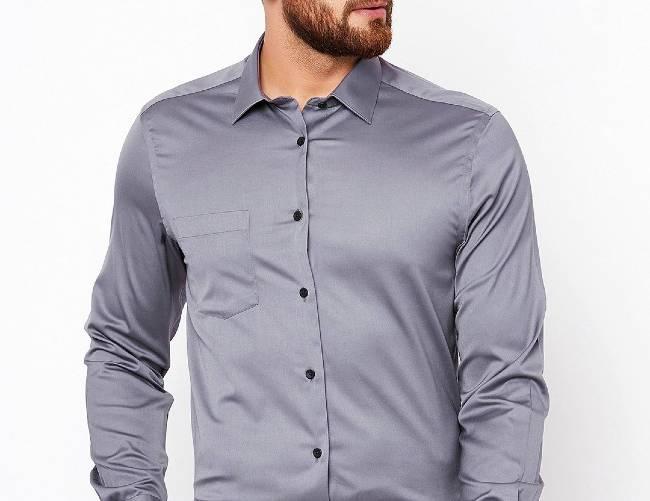 پیراهن رنگ طوسی