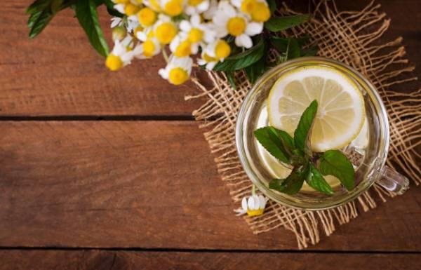 چای بابونه لیمو نعنا