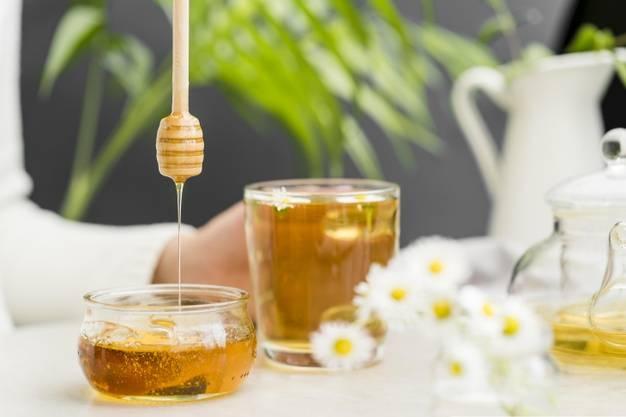 چای سبز و عسل