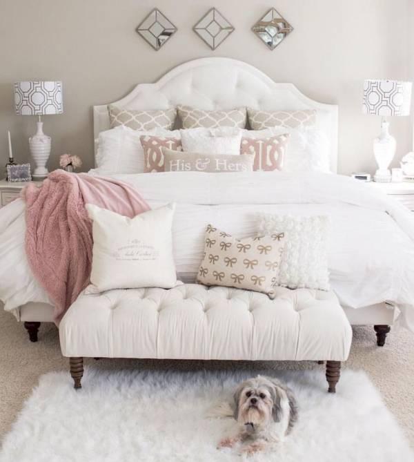 خانم های خوش سلیقه اتاق خواب را چطور می چینند؟