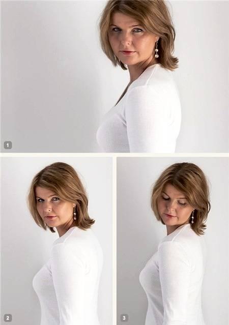 آموزش ژست گرفتن برای عکس تک نفره ویژه ی خانم ها