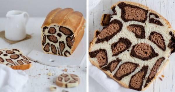 کامل ترین و بهترین آموزش درست کردن کیک چیتا یا پلنگی