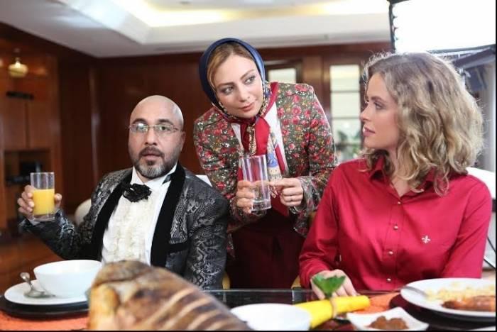 یکتا ناصر و رضا عطاران