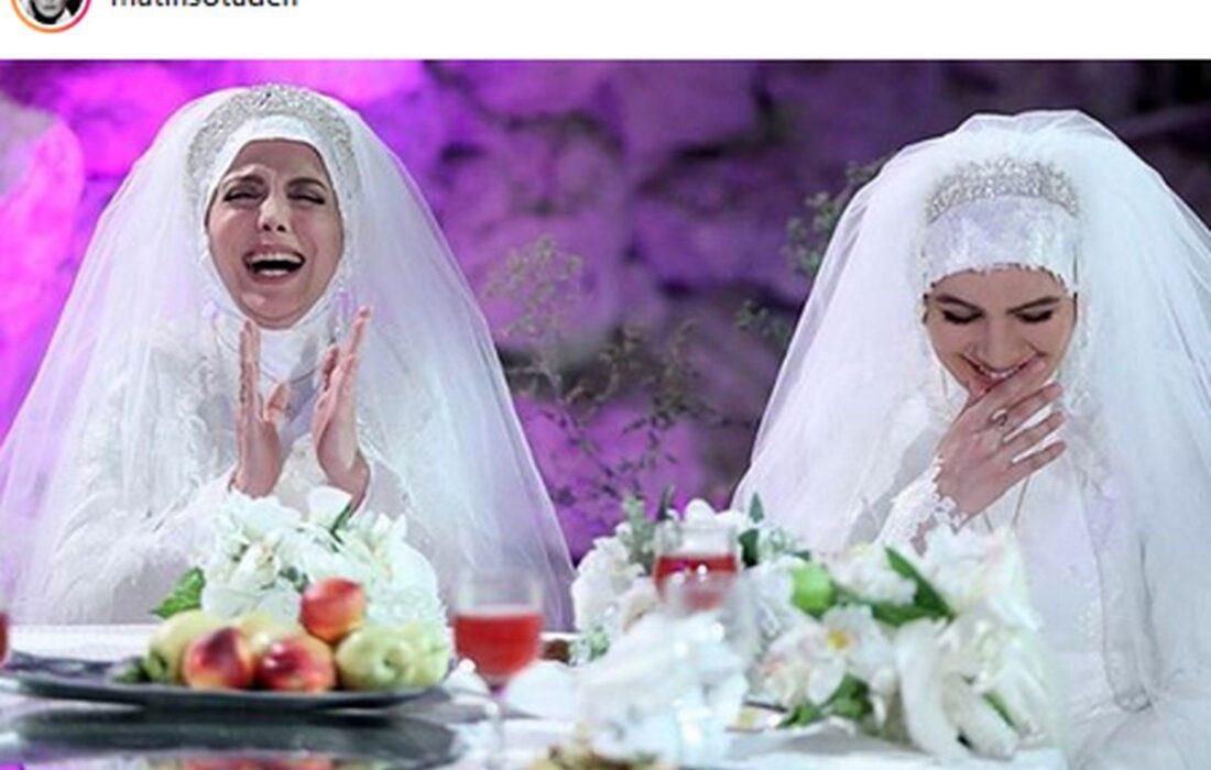 متین ستوده بازیگر لیسانسه ها ازدواج کرد