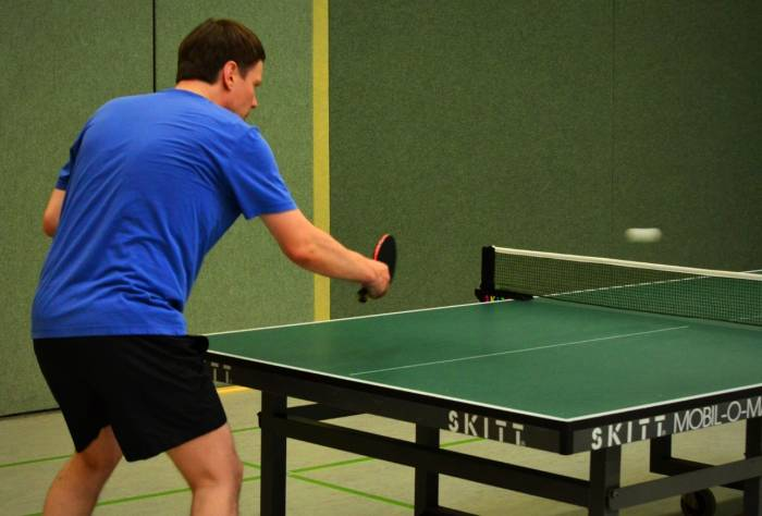 عوارض تنیس روی میز