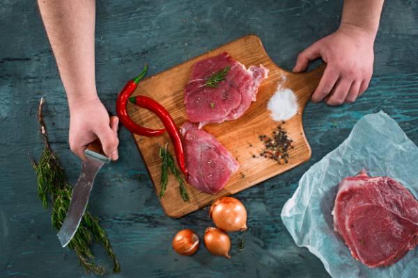 گوشت طبع گرم